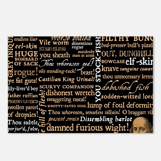 ShakespeareQuotes Postcards (Package of 8)