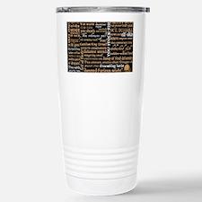 ShakespeareQuotes Stainless Steel Travel Mug