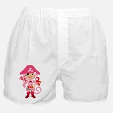 Captain Miss Monkie Boxer Shorts