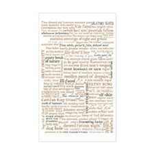 Shakespeare Quotes Decal