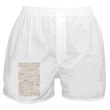 Shakespeare Quotes Boxer Shorts