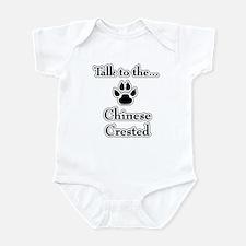 Crested Talk Infant Bodysuit