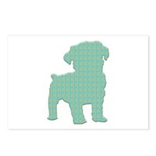 Paisley Schnoodle Postcards (Package of 8)