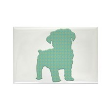 Paisley Schnoodle Rectangle Magnet (100 pack)