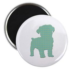 """Paisley Schnoodle 2.25"""" Magnet (10 pack)"""