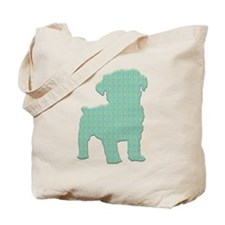 Paisley Schnoodle Tote Bag