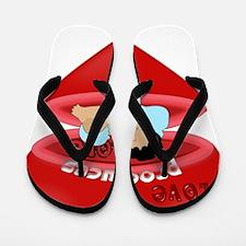 Love Produces Love Flip Flops