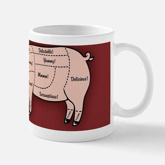 pig-cuts2-BUT Mug