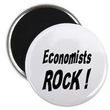 """Economists Rock ! 2.25"""" Magnet (100 pack)"""