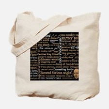 Shakespeare Quotes Tote Bag