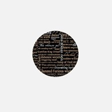 Shakespeare Quotes Mini Button