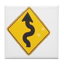 to hana sign Tile Coaster