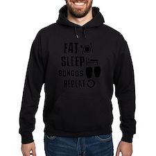 Eat Sleep Bongos Hoody