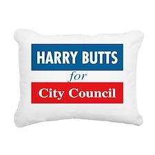 Harry Butts Rectangular Canvas Pillow