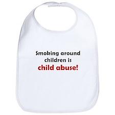 Smoking is Child Abuse Bib