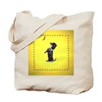 Begging Wirehaired Dachshund Tote Bag
