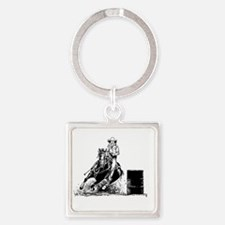 Barrel Racing Keychains