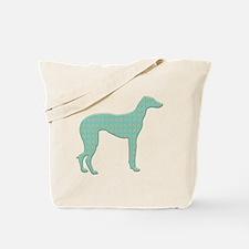 Paisley Sloughi Tote Bag