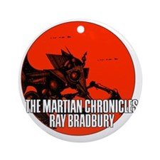 The Martian Cronicles Round Ornament