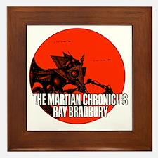 The Martian Cronicles Framed Tile