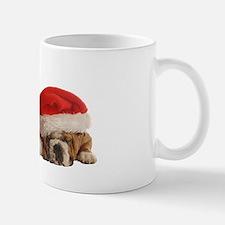 Funny Bulldog Christmas Mug