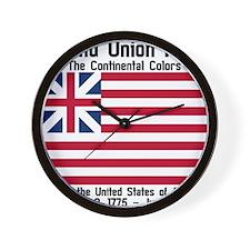 Grand Union Flag Wall Clock