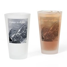 Joourney to Alaska Drinking Glass