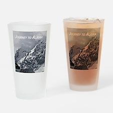 Joourney to Alaska Drinking Glass