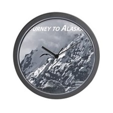 Joourney to Alaska Wall Clock