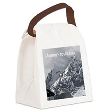 Joourney to Alaska Canvas Lunch Bag