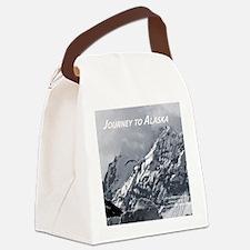 Joourney to Alaska Canvas Lunch Bag