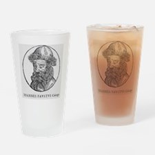 Johann Faust, German printer Drinking Glass
