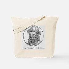 Johann Faust, German printer Tote Bag