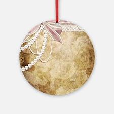 a Round Ornament