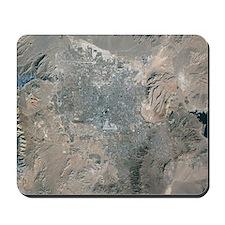 Las Vegas, satellite image, 2009 Mousepad