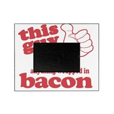 Guy Hearts Bacon Picture Frame