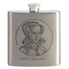 Mary I, Queen of England and Ireland Flask