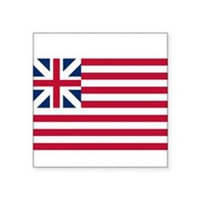 "Grand Union Flag Square Sticker 3"" x 3"""