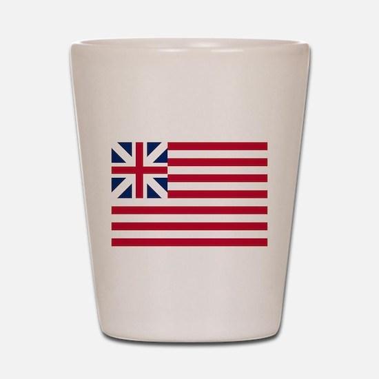 Grand Union Flag Shot Glass