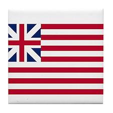 Grand Union Flag Tile Coaster