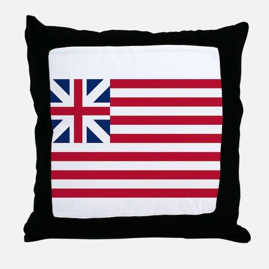 Grand Union Flag Throw Pillow