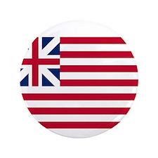 "Grand Union Flag 3.5"" Button"