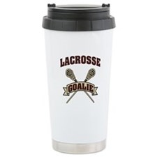 Lacrosse Goalie Travel Mug