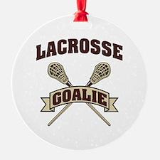 Lacrosse Goalie Ornament