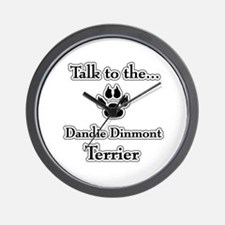 Dandie Talk Wall Clock