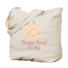 Baby Read Aloud Book Tote Bag