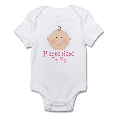 Baby Read Aloud Book Infant Bodysuit