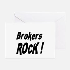 Brokers Rock ! Greeting Cards (Pk of 10)