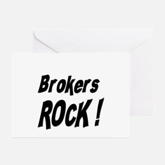 Brokers Rock ! Greeting Cards (Pk of 10)