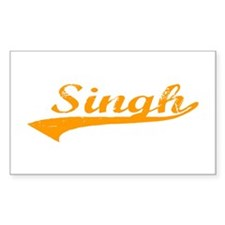 Singh Rectangle Decal